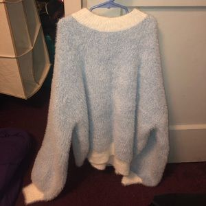 Forever 21 Sweaters - Forever 21 Fuzzy Ribbed Sweater